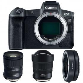 Canon EOS R + Tamron SP 24-70mm F/2.8 Di VC USD G2 + Tamron SP 15-30mm F/2.8 Di VC USD G2 + Canon EF EOS R | 2 Years Warranty