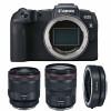 Canon EOS RP + RF 50mm f/1.2L USM + RF 24-105 mm f/4L IS USM + Canon EF EOS R | Garantie 2 ans