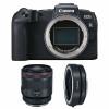 Canon EOS RP + RF 50mm f/1.2L USM + Canon EF EOS R | 2 Years Warranty