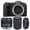 Canon EOS RP + RF 24-105mm f/4L IS USM  + RF 35mm f/1.8 Macro IS STM + Canon EF EOS R | 2 años de garantía