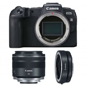 Canon EOS RP + RF 35mm f/1.8 Macro IS STM + Canon EF EOS R