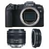Canon EOS RP + RF 35mm f/1.8 Macro IS STM + Canon EF EOS R   2 años de garantía