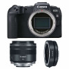 Canon EOS RP + RF 35mm f/1.8 Macro IS STM + Canon EF EOS R | 2 Years Warranty