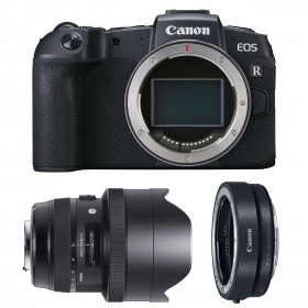 Canon EOS RP + Sigma 12-24mm F4 DG HSM Art + Canon EF EOS R
