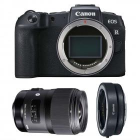 Canon EOS RP + Sigma 35mm F1.4 DG HSM Art + Canon EF EOS R