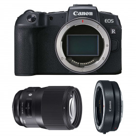 Canon EOS RP + Sigma 135mm F1.8 DG HSM Art + Canon EF EOS R