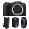 Canon EOS RP + Tamron SP 24-70mm F/2.8 Di VC USD G2 + Tamron SP 70-200mm F/2.8 Di VC USD G2 + Canon EF EOS R | Garantie 2 ans