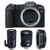 Canon EOS RP + Tamron SP 24-70mm F/2.8 Di VC USD G2 + Tamron SP 70-200mm F/2.8 Di VC USD G2 + EF EOS R   2 años de garantía