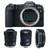 Canon EOS RP + Tamron SP 15-30mm F/2.8 Di VC USD G2 + Tamron SP 24-70mm F/2.8 Di VC USD G2 + Canon EF EOS R | 2 años de garantía