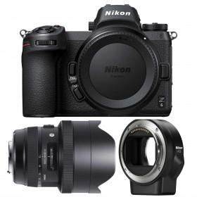 Nikon Z6 + Sigma 12-24mm F4 DG HSM Art + Nikon FTZ
