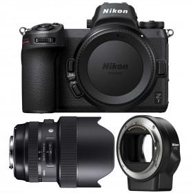 Nikon Z7 + Sigma 14-24mm F2.8 DG HSM Art + Nikon FTZ   2 Years Warranty