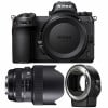 Nikon Z7 + Sigma 14-24mm F2.8 DG HSM Art + Nikon FTZ   2 años de garantía