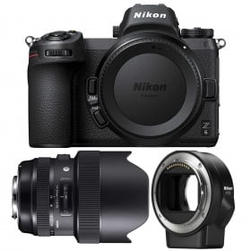 Nikon Z6 + Sigma 14-24mm F2.8 DG HSM Art + Nikon FTZ | 2 Years Warranty