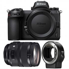 Nikon Z7 + Sigma 24-70mm F2.8 DG OS HSM Art + Nikon FTZ   2 Years Warranty