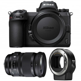 Nikon Z7 + Sigma 24-105mm F4 DG OS HSM Art + Nikon FTZ   2 Years Warranty