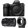 Nikon Z7 + Sigma 24-105mm F4 DG OS HSM Art + Nikon FTZ | Garantie 2 ans