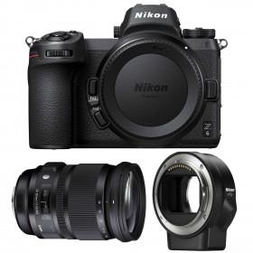 Nikon Z6 + Sigma 24-105mm F4 DG OS HSM Art + Nikon FTZ