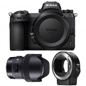 Nikon Z6 + Sigma 14mm F1.8 DG HSM Art + Nikon FTZ | 2 Years Warranty