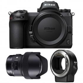 Nikon Z7 + Sigma 14mm F1.8 DG HSM Art + Nikon FTZ   2 Years Warranty