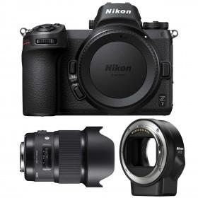 Nikon Z7 + Sigma 20mm F1.4 DG HSM Art + Nikon FTZ   2 Years Warranty