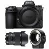 Nikon Z7 + Sigma 20mm F1.4 DG HSM Art + Nikon FTZ | 2 años de garantía