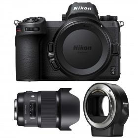 Nikon Z6 + Sigma 20mm F1.4 DG HSM Art + Nikon FTZ