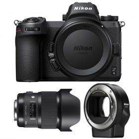 Nikon Z6 + Sigma 20mm F1.4 DG HSM Art + Nikon FTZ | 2 Years Warranty