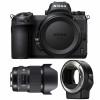 Nikon Z6 + Sigma 20mm F1.4 DG HSM Art + Nikon FTZ | Garantie 2 ans