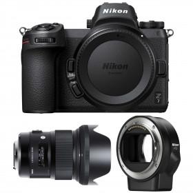 Nikon Z7 + Sigma 24mm F1.4 DG HSM Art + Nikon FTZ   2 Years Warranty