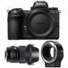 Nikon Z7 + Sigma 24mm F1.4 DG HSM Art + Nikon FTZ | Garantie 2 ans