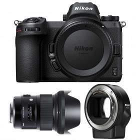 Nikon Z6 + Sigma 24mm F1.4 DG HSM Art + Nikon FTZ