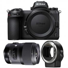 Nikon Z6 + Sigma 35mm F1.4 DG HSM Art + Nikon FTZ