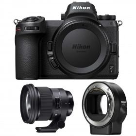 Nikon Z7 + Sigma 105mm F1.4 DG HSM Art + Nikon FTZ   2 Years Warranty