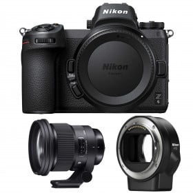 Nikon Z6 + Sigma 105mm F1.4 DG HSM Art + Nikon FTZ