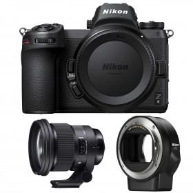Nikon Z6 + Sigma 105mm F1.4 DG HSM Art + Nikon FTZ | 2 Years Warranty