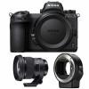 Nikon Z6 + Sigma 105mm F1.4 DG HSM Art + Nikon FTZ | Garantie 2 ans