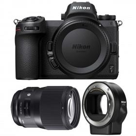 Nikon Z7 + Sigma 135mm F1.8 DG HSM Art + Nikon FTZ   2 Years Warranty