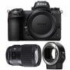 Nikon Z7 + Sigma 135mm F1.8 DG HSM Art + Nikon FTZ | 2 Years Warranty
