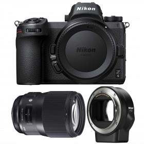 Nikon Z6 + Sigma 135mm F1.8 DG HSM Art + Nikon FTZ