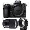 Nikon Z6 + Sigma 135mm F1.8 DG HSM Art + Nikon FTZ | Garantie 2 ans