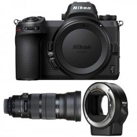 Nikon Z7 + Sigma 120-300mm F2.8 DG OS HSM Sports + Nikon FTZ   2 Years Warranty