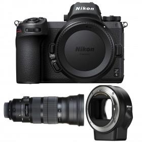 Nikon Z6 + Sigma 120-300mm F2.8 DG OS HSM Sports + Nikon FTZ