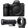 Nikon Z7 + Sigma 150-600mm F5-6.3 DG OS HSM Contemporary + Nikon FTZ | Garantie 2 ans