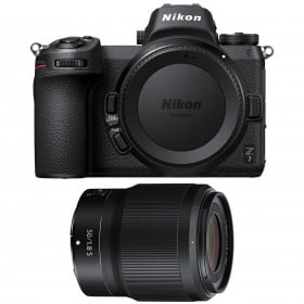 Cámara mirrorless Nikon Z7 + NIKKOR Z 50mm f/1.8 S