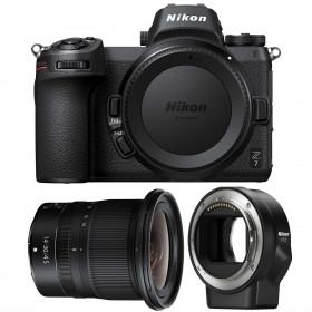 Nikon Z7 + NIKKOR Z 14-30mm f/4 S + Nikon FTZ   2 Years Warranty