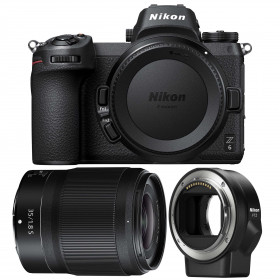 Nikon Z6 + NIKKOR Z 35mm f/1.8 S + Nikon FTZ | 2 Years Warranty