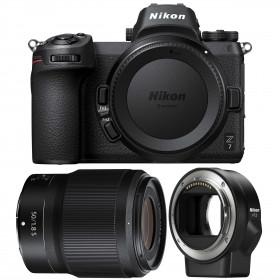 Nikon Z7 + NIKKOR Z 50mm f/1.8 S + Nikon FTZ   2 Years Warranty