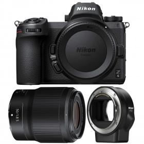 Nikon Z6 + NIKKOR Z 50mm f/1.8 S + Nikon FTZ