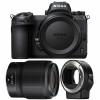 Nikon Z6 + NIKKOR Z 50mm f/1.8 S + Nikon FTZ | 2 años de garantía