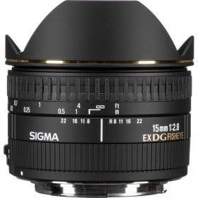 Sigma 15mm F2.8 EX DG Diagonal Fisheye ( Canon ) | 2 Years Warranty